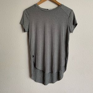 Melrose & Market high/low hem short sleeve tee